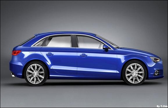 Projeção do Novo Audi A3 2012