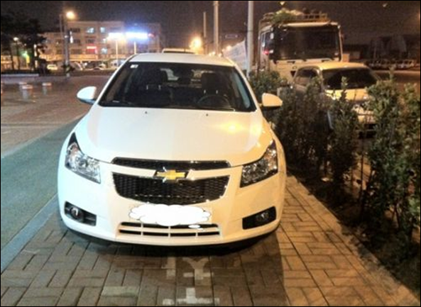 Chevrolet Cruze hatch é flagrado na Coréia do Sul