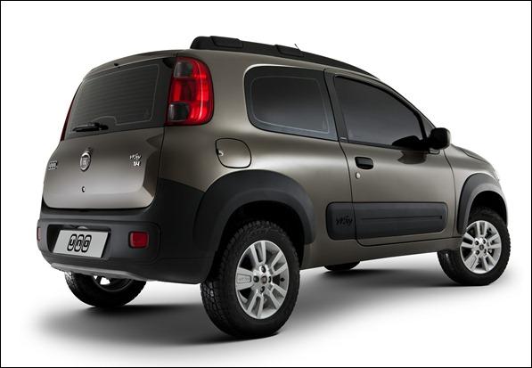 Novo Uno 2 portas é lançado por R$ 26.490