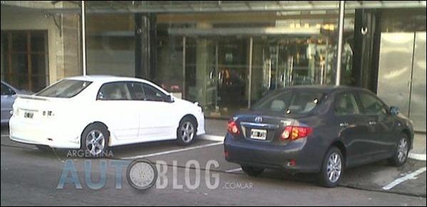 Versão esportiva do Corolla reestilizado é flagrada na Argentina