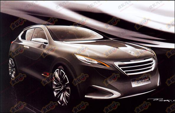 Novo conceito da Peugeot para o Salão de Xangai