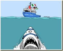 Israel_threatens_Rachel_Corrie_by_Latuff2