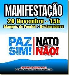 MANIFESTAÇÃO ANTI-NATO