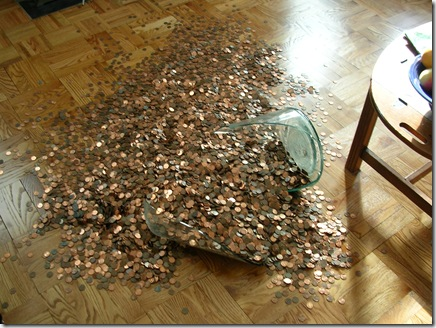 personal blog of david damore five gallons of pennies