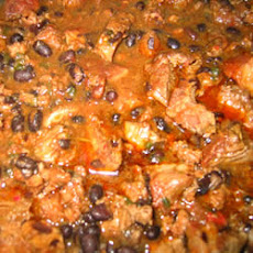 Pork and Black Bean Stew
