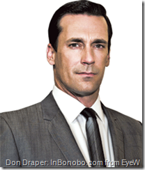Jon Hamm on Mad Men