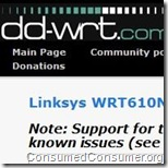 dd-wrt linksys wrt610n