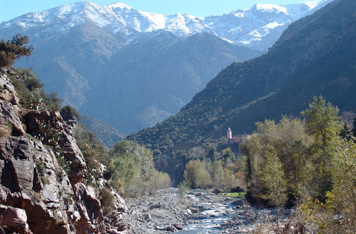 Walking holiday in Morocco, Ourika Valley