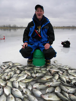 Herman brothers blog ice fishing video and pics from for Otter ice fishing
