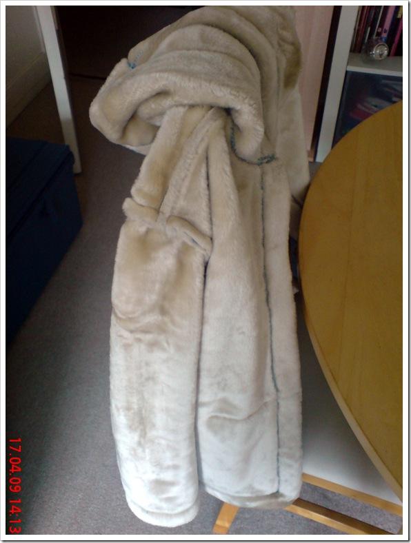 manteau coté fourrure