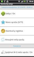 Screenshot of Skambučių seklys