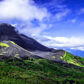 Mt.Soputan by Vrangky R - Landscapes Mountains & Hills