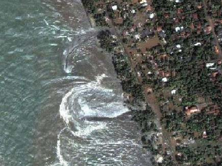 tsunami 3 14 Most Amazing Satellite Pictures You'll Ever Seen Before