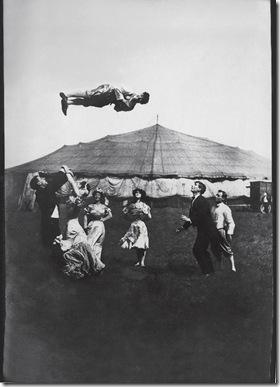 el acróbata 1910