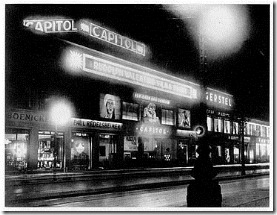Capitol Theater Berlin, 1926