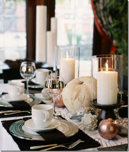 Home Design 2011: Thanksgiving Table Decorating Ideas – With or ...