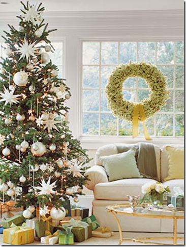 designer christmas tree white ornaments - How To Decorate A Designer Christmas Tree