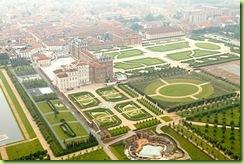 veduta aerea giardini