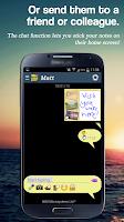 Screenshot of BotherMe&U Reminder Messenger