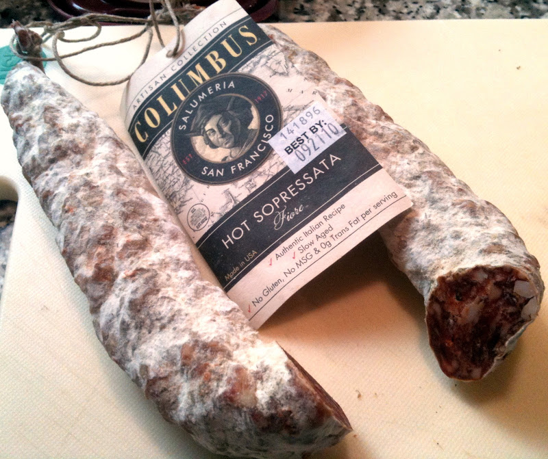 Quick Review: Columbus Artisan Hot Sopressata