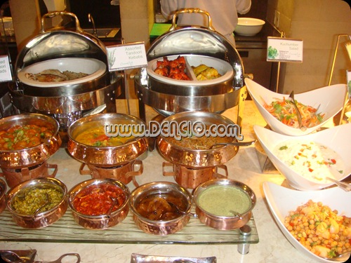 Indian Foods with Lots of Dipping Options...
