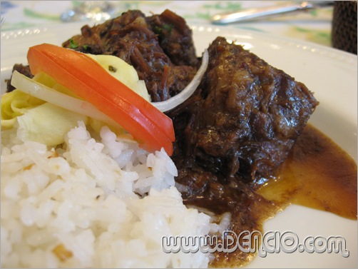 Braised Beef Short Ribs (P450.00)
