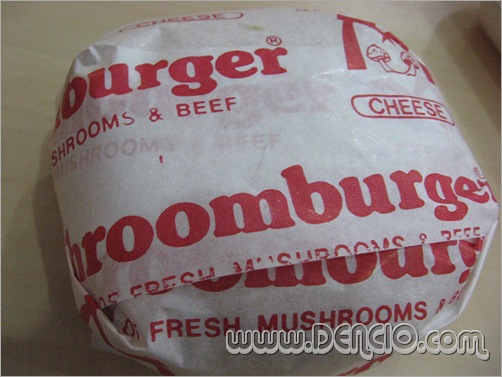 Mushroom Cheese Burger...