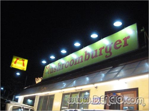 Mushroom Burger...