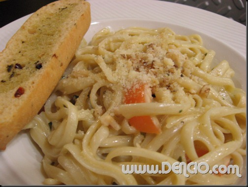 Linguine with Bleu Cheese P105