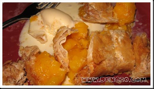 Mango + Cinnamon = weirdness!