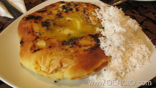 Bibingka with salted eggs