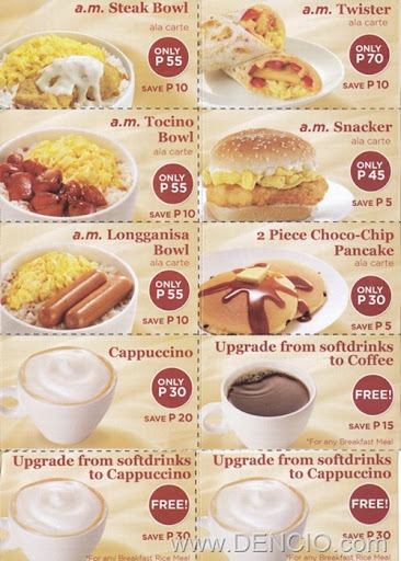 Around the World: KFC Philippines Offers All-You-Can-Eat Breakfast ...
