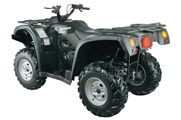 500cc 500 4WD Farm Quad Bike ATV Black