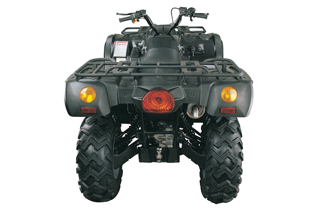 500cc 500 4WD Farm Quad Bike ATV Rear