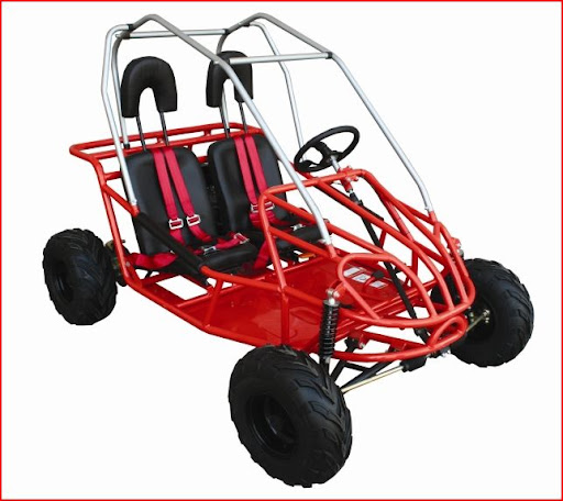 192cc 6.5Hp Kids Junior Twin Seater Dune Buggy