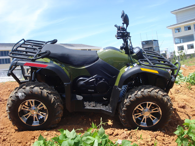 500cc XY Xinyang ATV Farm 4x4 Quad Bike Green with IRS