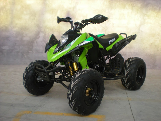 250cc Watercooled Raptor Style Sports Quad Bike Green