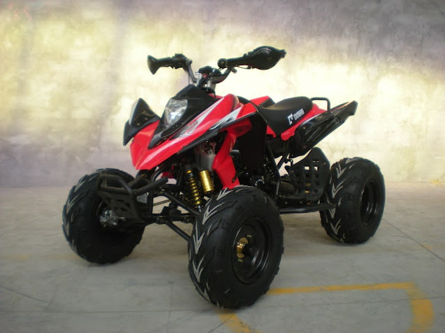 250cc Watercooled Recreational Sports 4 wheeler Quad Bike Red
