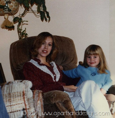 Mom and I Nov 1982