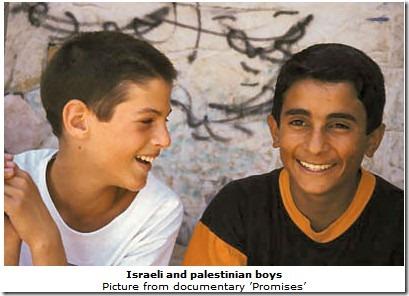 israel palestinian boys