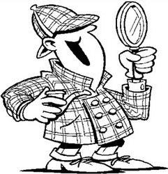 Detektiv s lupom