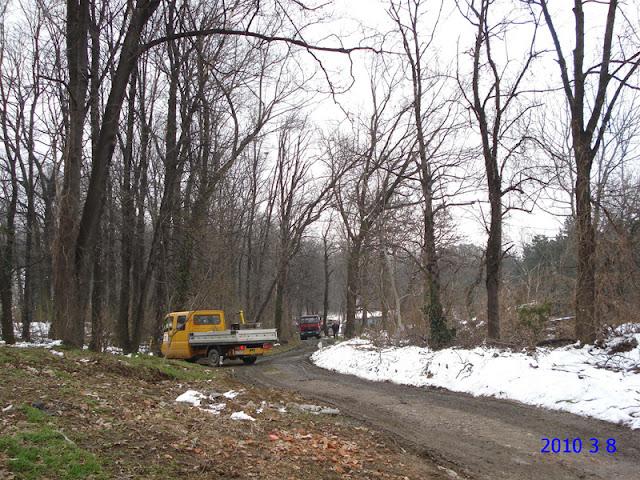 Asfaltiranje u Zvezdarskoj šumi