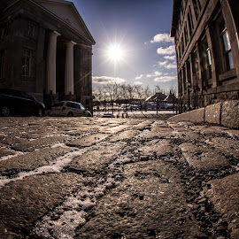 Old Montreal by Faisal Abuhaimed - City,  Street & Park  Historic Districts