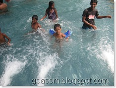 children enjoying a weekend in goa