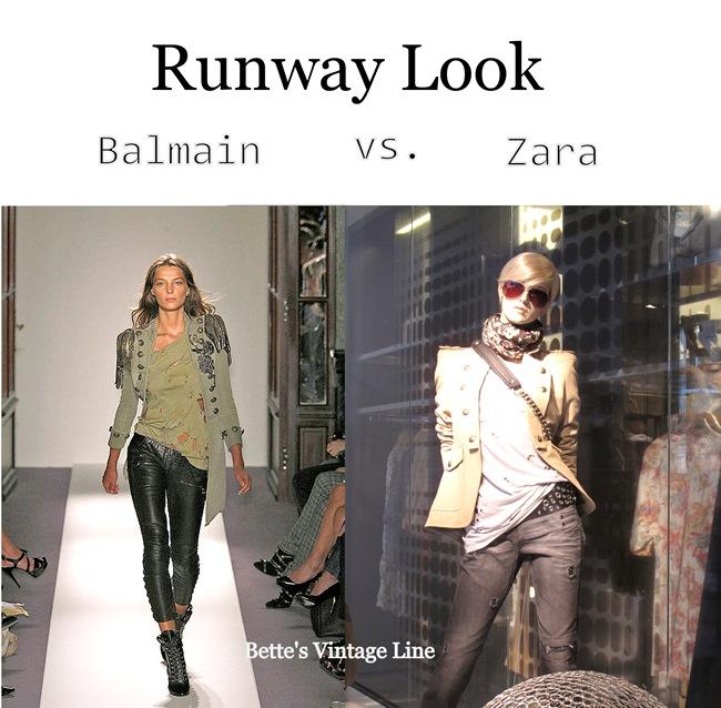 Balmain Zara @ Bette's Vintage Line