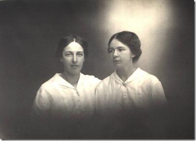 Grandma & Aunty Maud