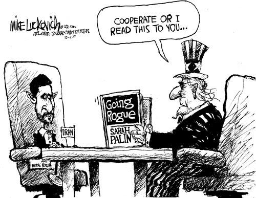 the frustrated teacher  monday cartoon fun  iran sanctions