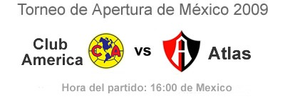 Club America vs Atlas