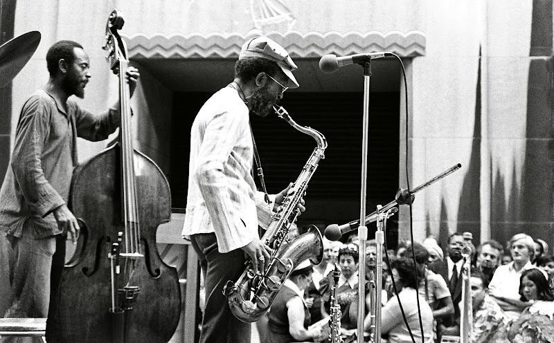 Percy Heath & Jimmy Heath The Heath Brothers @ Rockerfeller Center NYC - June, 1977.jpg