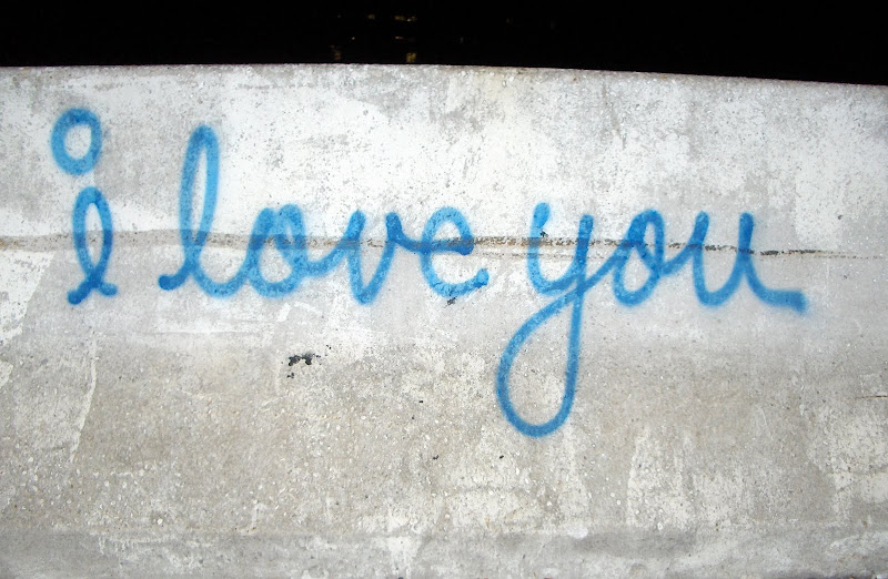 i love you graffiti - New York 2005 - photograph by Simon Ballard.jpg